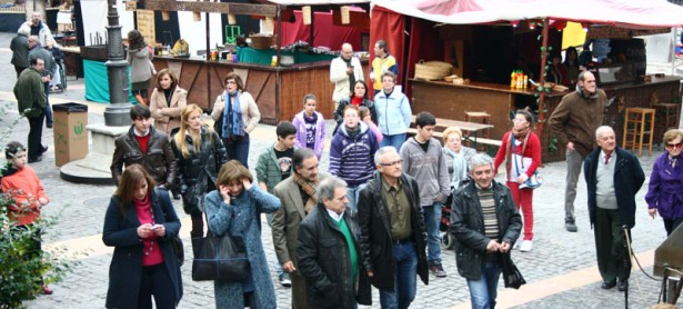 Visita al Mercado Medieval de Xàtiva