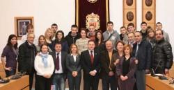 Estudiantes del programa Comenius