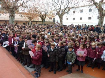 Día de la Paz, Colegio La Concepción de Ontinyent