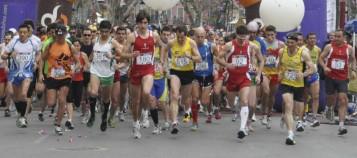 salida de la mitja marató de xàtiva