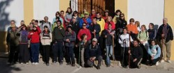 Participantes de la ruta Pobla del Duc