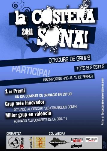 Cartell de La Costera SONA!