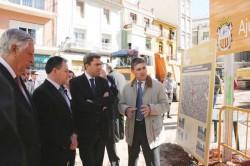 Vicente Rambla y el alcalde de Algemesí
