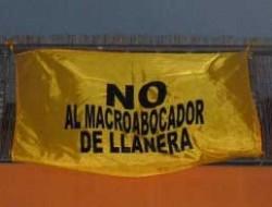 No al macroabocador de Llanera
