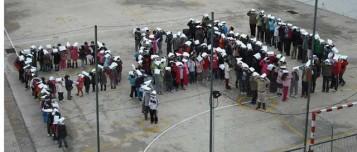 Tifo al Martínez Bellver de Xàtiva