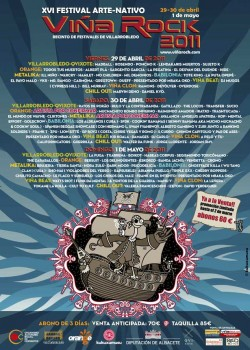 cartel 2011 Viña Rock
